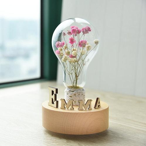 FARRIDA - Handmade Flower Music Box 手造滿天星乾花音樂盒