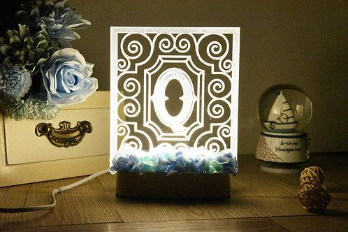 Customized Preserved Flower Nightlight 永生花名字小夜燈