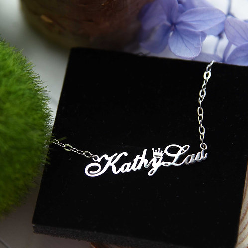 Customized Name Necklace 訂製名字項鍊