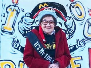 SHE'S LOVIN' IT! 100-Year-Old McDonald's Worker Shuns Retirement, Says 'I Pay My Bills, That's Good!