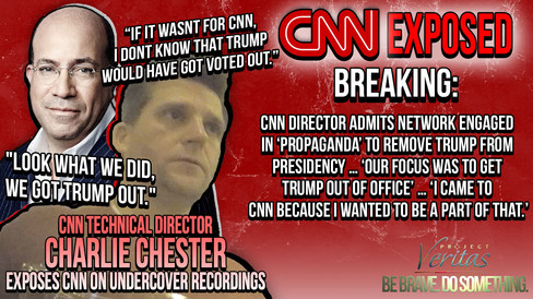 PART 1: CNN Director ADMITS Network Engaged in 'Propaganda' to Remove Trump from Presidency …