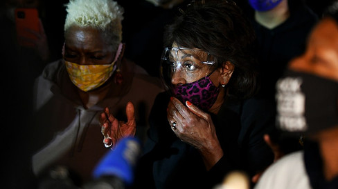 Maxine Waters tells Minnesota BLM protesters 'to get more confrontational'
