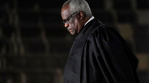 Justice Clarence Thomas Takes Aim At Tech And Its Power 'To Cut Off Speech'