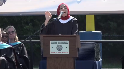 """Dem Tells High School Grads They're Entering A World Of """"Capitalism"""" and """"White Supremacy""""..."""