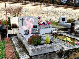 New twist on oldest hatred: Swastikas deface Christian headstones, but Jewish ones untouched