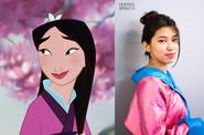 Urgan Chodon as Mulan