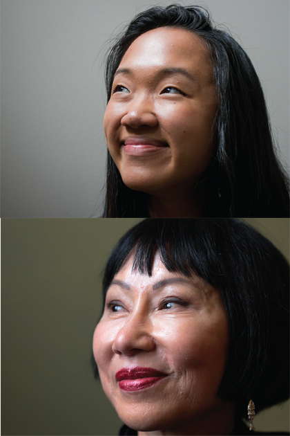 Jackie Yeh as Amy Tan