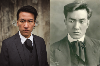 Landyn Pan (Lusihui Pan) as Sessue Hayakawa