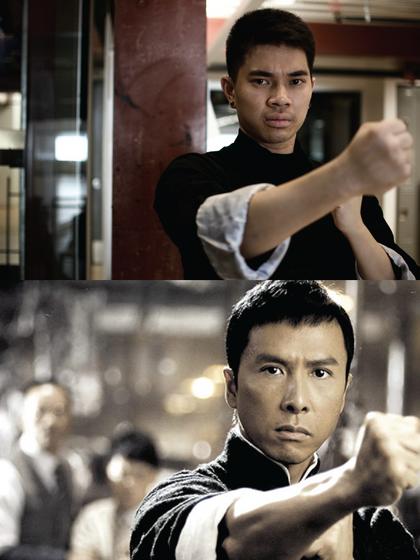 Brian Lee (Lee Yur) as Ip Man