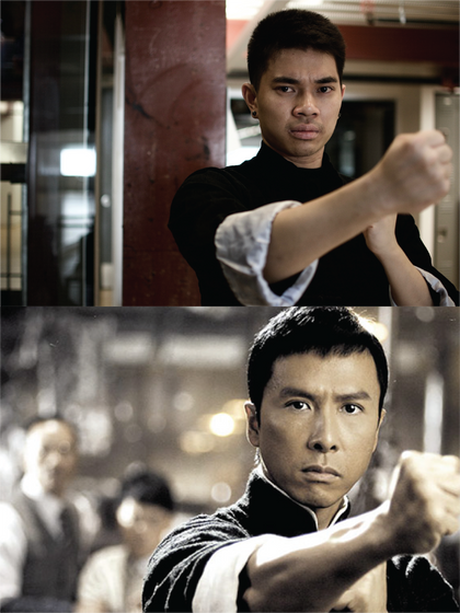 Brian Lee (Lee Yur) as Ip Man