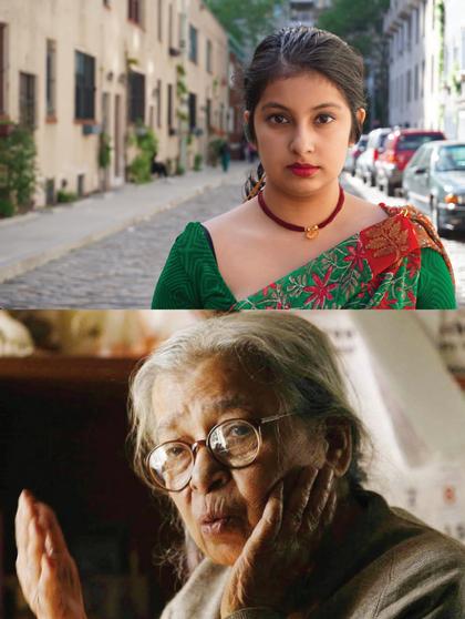 Annesha Sengupta as Mahasweta Devi
