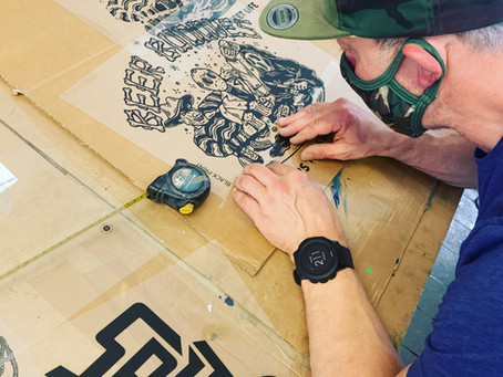 Artwork for Screen Printing - a graphic designer's guide
