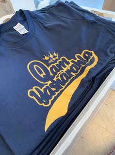 T-shirts for performance brand, Beverley Barbell Co.