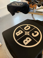 Screen Printed t-shirts for Beverley Barbell Co.
