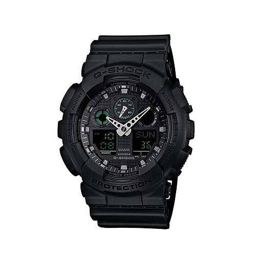 G-Shock XL Analog-Digital World Time Black GA110-1BCR