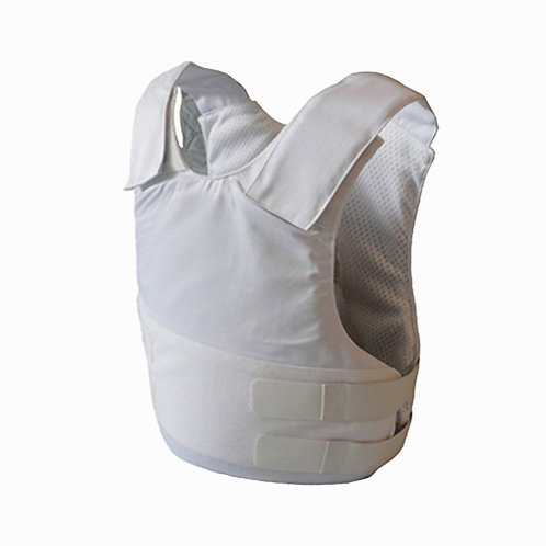 Kevlar White Concealable Bulletproof Vest