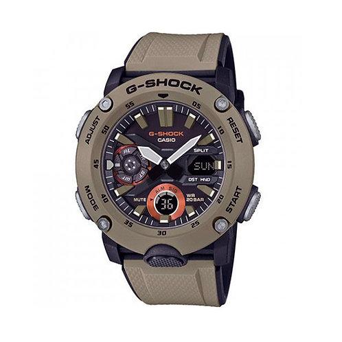 Casio GA2000-5A Carbon Core G-Shock Digital-Analog Watch