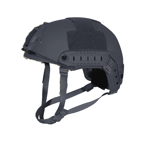 Kevlar NIJ IIIA Bulletproof + V50 Fragproof HCD Helmet SWAT Grey Medium