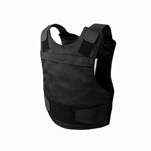 Certified Black Kevlar Bulletproof Vest SKVC-01BLK
