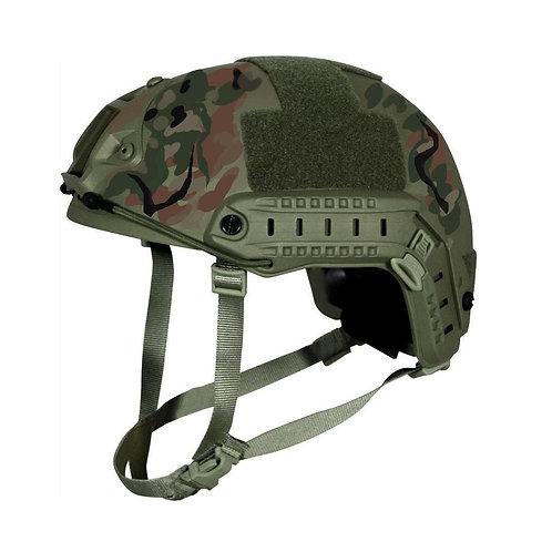 Kevlar NIJ IIIA Bulletproof + V50 Fragproof HCD Helmet Multicam Camo Large