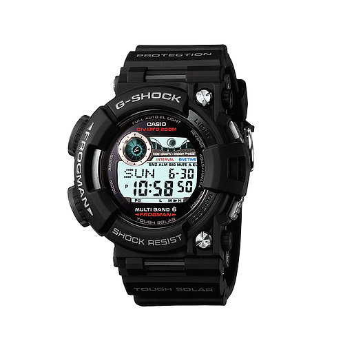 Casio G-Shock Frogman Black Solar Atomic GWF1000-1CR