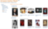 Amazon AUTHOR RANK = #2 in HORROR Next t