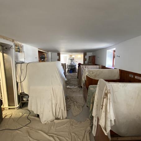 Construction Process from Cambridge Restaurant Design