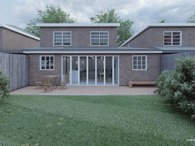 2 Storey Rear Extension Project - Guildford