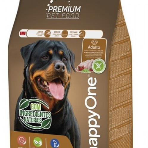 HappyOne Premium Sem Cereais Cão Adulto - Frango E Vegetais