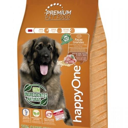 HappyOne Premium Cão Adulto Raças Grandes - Carne Fresca De Aves