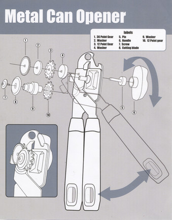 The Mechanics Behind a Can Opener
