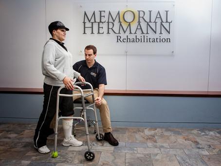 Memorial Hermann Rehabilitation Hospital Awarded Three-Year Accreditation for Excellence.