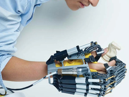 Memorial Hermann Hospital Robotics Laboratory developing robot-assisted rehabilitation technologies.