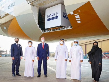 Abu Dhabi's Hope Consortium expands reach for full global vaccine distribution.