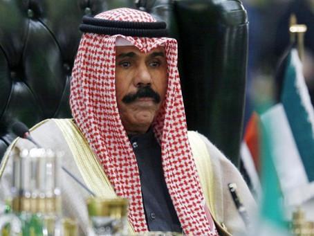 UAE leaders greet Kuwait's new Emir, Sheikh Nawaf Al-Ahmad Al-Jaber Al-Sabah.