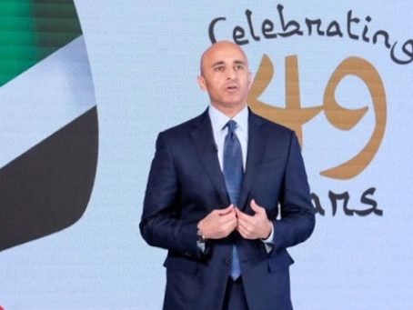 Ambassador Yousef Al Otaiba highlights achievements of the UAE at 49th National Day.