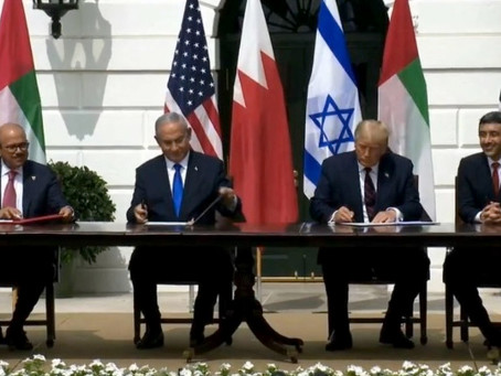 U.A.E.- Israel - Bahrain Peace Accord Fosters Stability, Opportunity, and Prosperity
