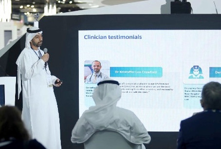 Malaffi platform using predictive analytics technology to improve the health of Abu Dhabi residents.