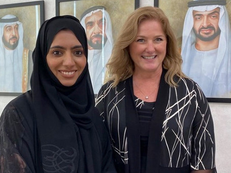 Thanks to Hind Al Zaabi for helping UAE patients and their families!