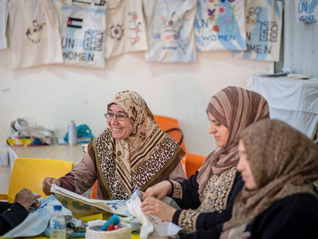 Dubai's Expo is helping to fund employment opportunities for refugees.