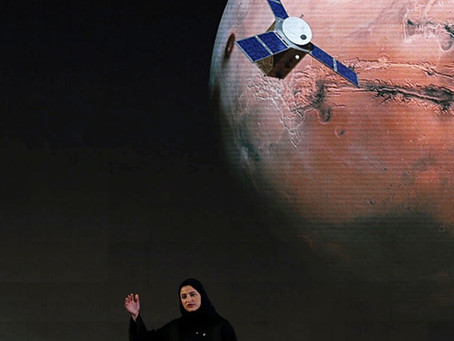 Mars Mission From the UAE Begins Orbit of Red Planet