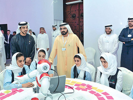 UAE Ministry of Health and Prevention celebrates Innovation Week.