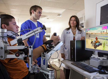 TIRR Memorial Hermann rehabilitation programs can mitigate the negative effects of COVID-19.