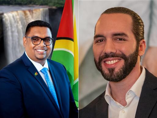 Predsjednici Mohamed i Najib u Gvajani i El Salvadoru imaju velike planove