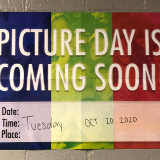 Picture day is next Tuesday at CHS