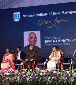 Presidential Event at NIBM (National Institute of Bank Management)