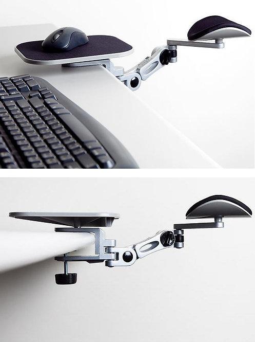 Soporte ajustable para antebrazo con mouse