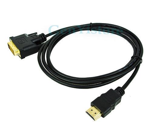 CABLE HDMI M a DVI H   1,8m