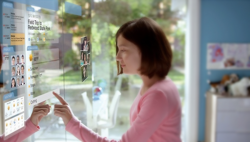 HoLografias, Monitores LED transparentes
