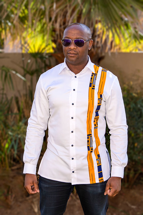 Mens African Print shirt